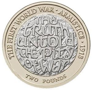 First world war armistice two pound