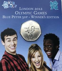 Blue Peter 2009 Olympics 50p