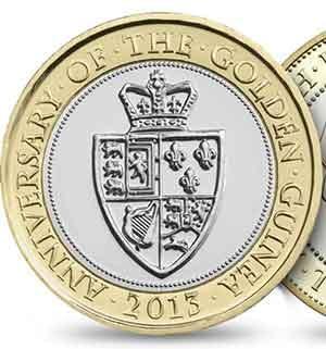 Golden Guinea £2