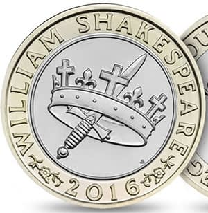 William Shakespeare 2 Pound
